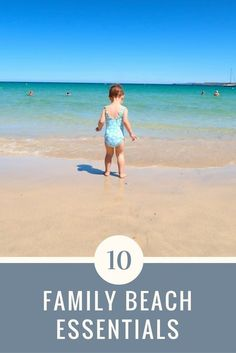 Are you going on holiday with your family? Here are 10 family beach essentials you need for your trip to the seaside.