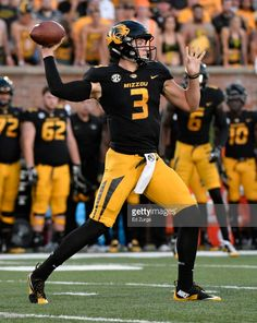 News Photo   Quarterback Drew Lock of the Missouri Tigers. 42a819cf7