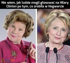 Would you like Dolores Umbridge at the White House? Vote Hillary for President. Harry Potter Jokes, Harry Potter Fandom, Delores Umbridge, Gina Weasley, Mischief Managed, Hogwarts, Just In Case, I Laughed, At Least