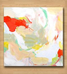 Red, Green & Yellow Abstract I Art Print | Art Prints | Britt Bass | Scoutmob Shoppe | Product Detail