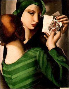 """""""Les joueuses de cartes"""" Tamara de Lempicka"""