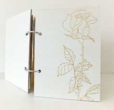 This Garden Journal would make a great gift for a gardener or anyone who loves flowers and nature! It has been made with approx. 60 mixed paper pages... £25