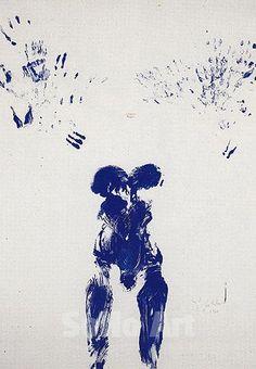 Yves Klein, Ant 1954  Art Experience NYC  www.artexperiencenyc.com