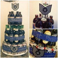 Beer Cake for Air Force promotion