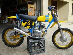 1975 Honda XR75 Tricked Out by DG!