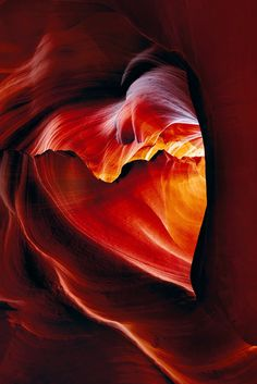 Antelope Canyon near the city of Page in northern Arizona is a 'Lovely' place to visit and take pictures. (Photo 'Desire' by Peter Lik) Peter Lik Photography, Nature Photography, Photography Tips, Scenic Photography, Beautiful World, Beautiful Places, Cool Photos, Beautiful Pictures, Heart Pictures