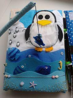 Quiet Book penguin.