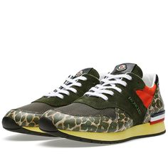 Moncler San Diego Sneaker (Leopard)