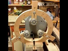 WN - diy spindle steady rest for the wood lathe