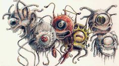 Beholders Across the Editions