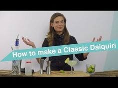 Tess Posthumus shows you in a series of tutorial videos how you can make delicious cocktails at home. Create this classic Daiquiri cocktail yourself!