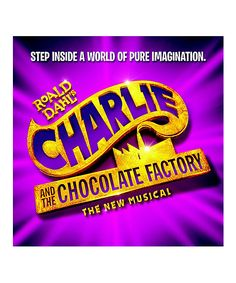 Original Broadway Cast Recording (Soundtrack) to the Broadway musical Charlie and the Chocolate Factory Music composed by Marc Shaiman. Charlie and the Chocolate Factory Soundtrack from the Broadway Shows For Kids, Broadway Show Tickets, Broadway Lottery, Broadway News, Charlie Chocolate Factory, Christian Borle, Peter And The Starcatcher, Tony Award Winners, Theater