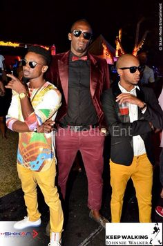 Jamaica party fashion!  It's a lifestyle.