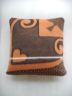 Items similar to Basotho cushion cover Orange, Light Blue and Black - Heart and Diamond on Etsy Light Orange, Light Blue, Black Heart, Party Time, Blankets, Cushions, African, Throw Pillows, Trending Outfits