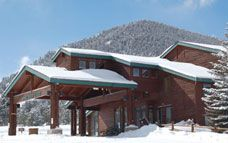 The Wind River Lodge at the YMCA of the Rockies sleeps up to five people per room! near Estes Park, Colorado & Rocky Mountain National Park.