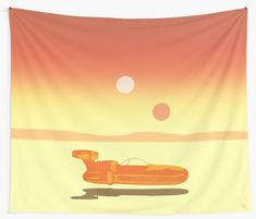 Landspeeder Wall Tapestry. #landspeeder #scifi #movie #walltapestry #tapestry #redbubble #movies #cinema #cinephile #popular #home #art #design #homedecor #homegifts #art #design #online #shopping #giftsforhim #family #style #fashion #bachelor #mancave #giftsforher #xmasgifts #christmasgifts #cinephile #39 #deals #dorm #campus #fraternity #house #decor • Also buy this artwork on home decor, apparel, stickers, and more.