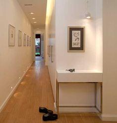 decoracion pasillos largos - Buscar con Google