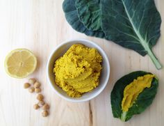 Curried hummus. Vegan, healthy, anti-inflammatory, and super delicious! Serve with crackers, pita, veggies, or as a spread on sandwiches! Please click on the photo in Yumgoggle to get to this delicious recipe. Enjoy!