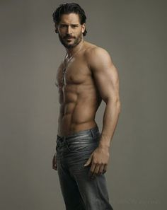 "Alcide from ""True Blood"" I didn't even know you could have muscles in some of those places! WOW!"