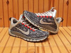 new style 66db6 3ccb8 2014 Nike Free Trainer 5.0 AMP Size 7 -Cool Grey Black Infrared Camo- 644682