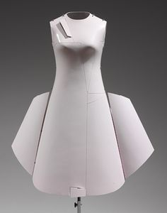 "Hussein Chalayan: ""Airplane"" Dress (2006.251a-c) 