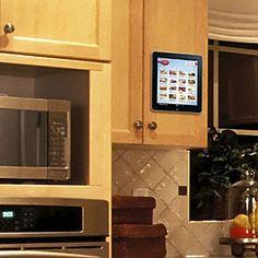 ThinkGeek :: PadTab Tablet Wall Mounting System