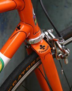 Colnago lug work... Close up