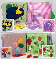Livre calme pour enfants livre chargée Eco friendly par MiniMoms