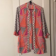 H&M coverup Lightweight summer coverup brand new without tags H&M Tops Tunics