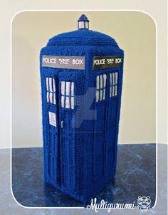 Tardis - Doctor Who by Multigurumi.deviantart.com on @DeviantArt