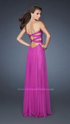 """La Femme 18846 | La Femme #Fashion 2013 - La Femme #Prom #Dresses - Love the back #IPAProm ""  the back #Style"