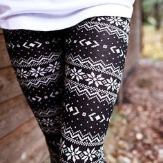 Nordic Winter Leggings.