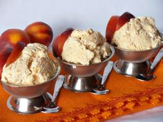 CAIETUL CU RETETE: Inghetata de nectarine Cooking Ice Cream, Sorbet, Parfait, Sugar Free, Deserts, Muffin, Breakfast, Food, Desert Rose