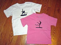Gymnastics Shirts for the Kids @Silhouette America