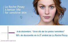 """La farmacia Josefina López Oroval y los laboratorios La Roche Posay os invita el próximo 4 de diciembre al """"Gran día de las pieles sensibles"""".    Durante toda la tarde, estará con nosotros Jaqueline, experta asesora de La Roche Posay, que os indicará qué productos son los más adecuados para vuestra piel y cómo aplicarlos para conseguir un mayor beneficio.    Además, durante esa tarde os podéis beneficiar de un 50% de descuento en la 2ª unidad (cremas de tratamiento).  ¡¡¡¡Os esperamos!!!!"""