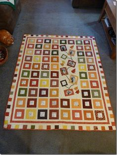 lovely signature quilt