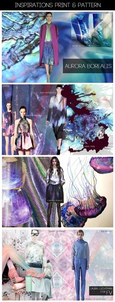 FASHION VIGNETTE: [ INSPIRATIONS PRINT + PATTERN ] KUKKA by Laura Luchtman