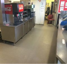 Horecavloer Burger King Amsterdam Foodstrip - Q-Flooring