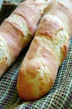 Arabeska: Bagietki na maślance Bread Recipes, Baking Recipes, Pizza Snacks, Bread Rolls, Kitchen Recipes, Other Recipes, My Favorite Food, Food Hacks, Food Inspiration
