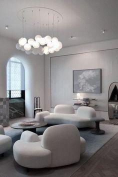 Interior Design Boards, Contemporary Interior Design, Furniture Design, Interior Modern, White Furniture, Luxury Interior, Luxury Home Decor, Home Decor Trends, Cheap Home Decor