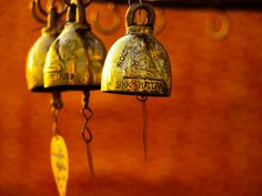 """Ring the bells that still can ring/Forget your perfect offering/There is a crack in everything/That's how the light gets in. Love Bells, Temple Bells, Ring My Bell, Golden Temple, Mason Jar Lamp, Decorative Bells, Wind Chimes, Spirituality, Burnt Orange"