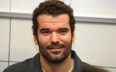 Slovenian swimmer Peter Mankoc