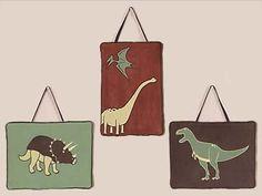 Dinosaur Wall Hanging Accessories by Sweet Jojo « Clothing Impulse
