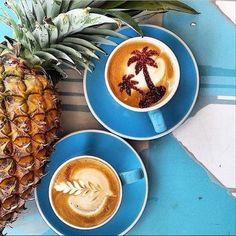 How every morning #coffee should look. #SundayFunday x #BikiniDotcom