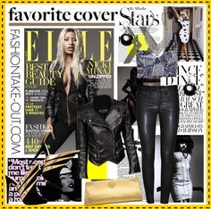 """NICKI MINAJ: April 2013 Magazine Cover"" by fashiontake-out ❤ liked on Polyvore"