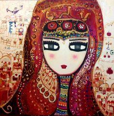 Artists For Kids, Art For Kids, Open Art, Pretty Drawings, Arabic Art, Turkish Art, Naive Art, Outsider Art, Whimsical Art