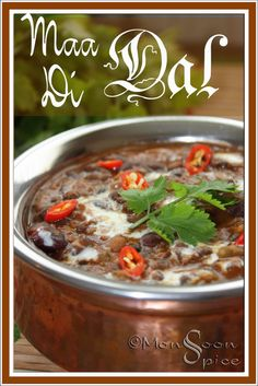 Monsoon Spice   Unveil the Magic of Spices...: Maa Di Dal: Mother of All Dals