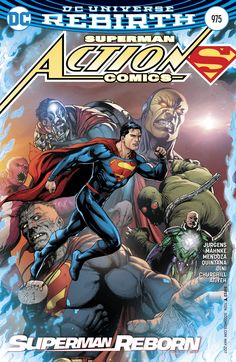 Action Comics #975 Variant Cover by Gary Frank & Brad Anderson