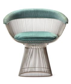Warren Platner´s steel wire dining chair, for Knoll International, ca.1960s. / 1stDibs