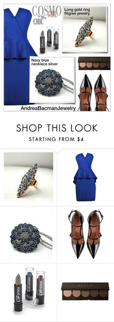 """Cosmo Girl (AndreaBacmanJewelry #1)"" by shambala-379 ❤ liked on Polyvore featuring Retrò and RED Valentino"